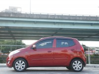 Hyundai  I10 TACA認證車(雙安全氣囊 ABS)i10 1.1 一手 稀有酒紅色 保固全額貸 | 新北市汽車商業同業公會|TACA優良車商聯盟|中古、二手車買車賣車公會認證保固