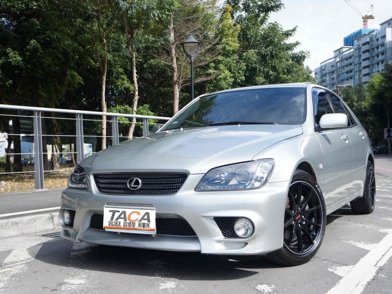 Lexus  IS TACA認證車(低里程 RAYS)IS200 後驅轎跑車 全額貸 內外極美 保固 | 新北市汽車商業同業公會|TACA優良車商聯盟