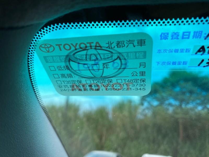 Toyota  Wish 原板認證跑11萬   新北市汽車商業同業公會 TACA優良車商聯盟 中古、二手車買車賣車公會認證保固