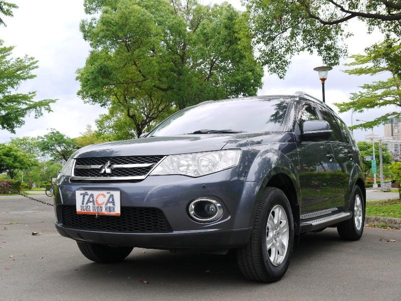 Mitsubishi  Outlander 正2013'影音天窗方向盤換檔坡片   新北市汽車商業同業公會 TACA優良車商聯盟 中古、二手車買車賣車公會認證保固