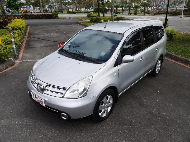 Nissan  Livina 1800cc 7人座.都會區機械式車位可停放. | 新北市汽車商業同業公會|TACA優良車商聯盟|中古、二手車買車賣車公會認證保固