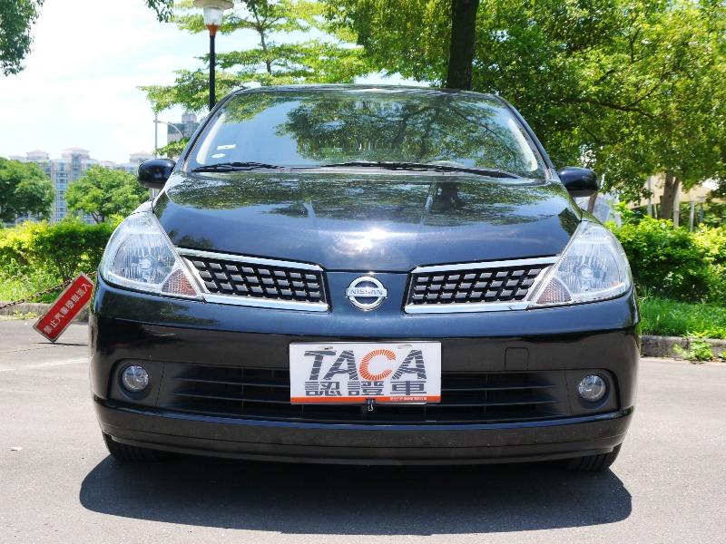Nissan  Tiida 天窗 I Key 影音HID最頂級 | 新北市汽車商業同業公會|TACA優良車商聯盟|中古、二手車買車賣車公會認證保固